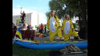 Парад байдарок на WaterFest 2017 в Харькове или Как Плавают Тигры 😺