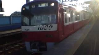 京成八広駅にて。1001Fで撮影。