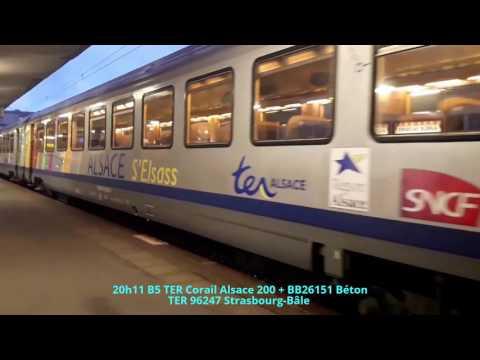 36.6.1 Les trains au mois d'Avril, Partie 6.1: Mulhouse