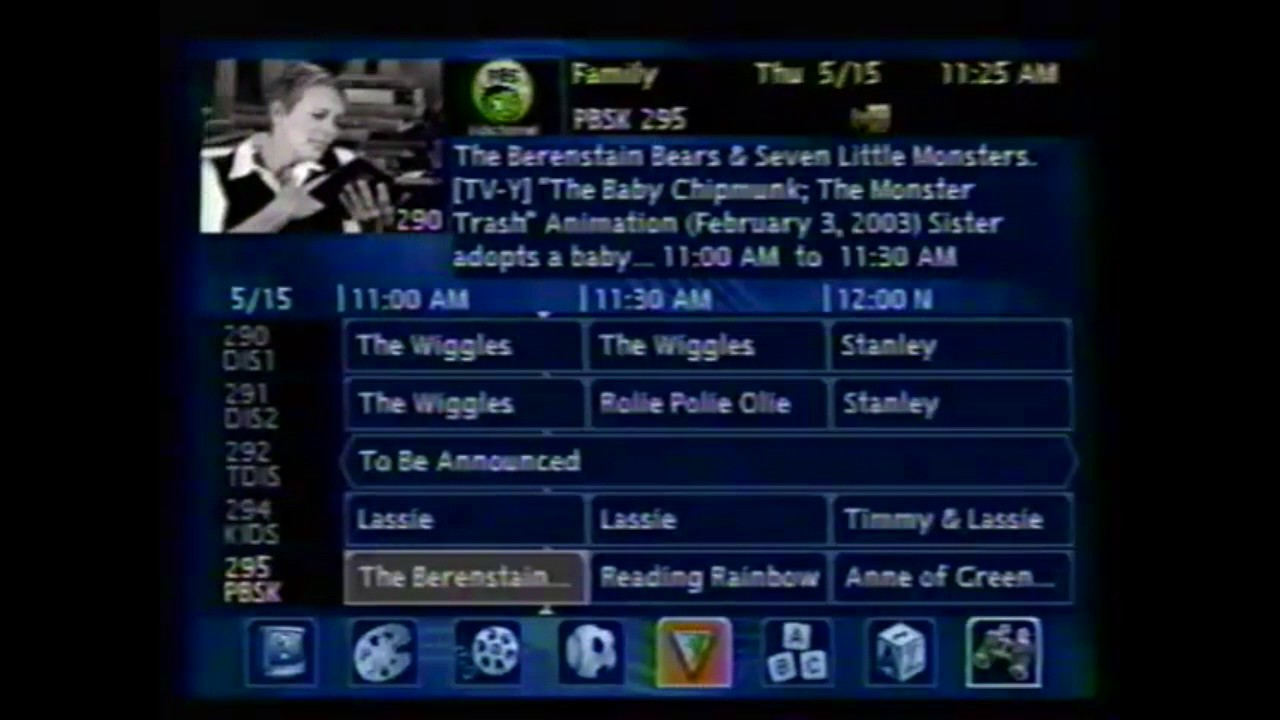 directv channel guide clips from may 15 2003 youtube rh youtube com tv guide network directv directv tv guide mlb network