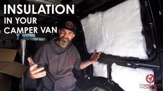 HOW TO PROFESSIONALLY FIT SOUND DEADENING AND INSULATION TO YOUR CAMPER VAN