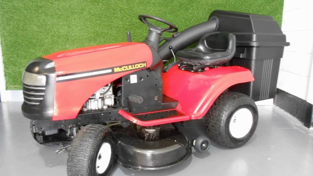 Lawn Mower Turbocharger : Mcculloch eu turbo limited edition ride on lawn mower for
