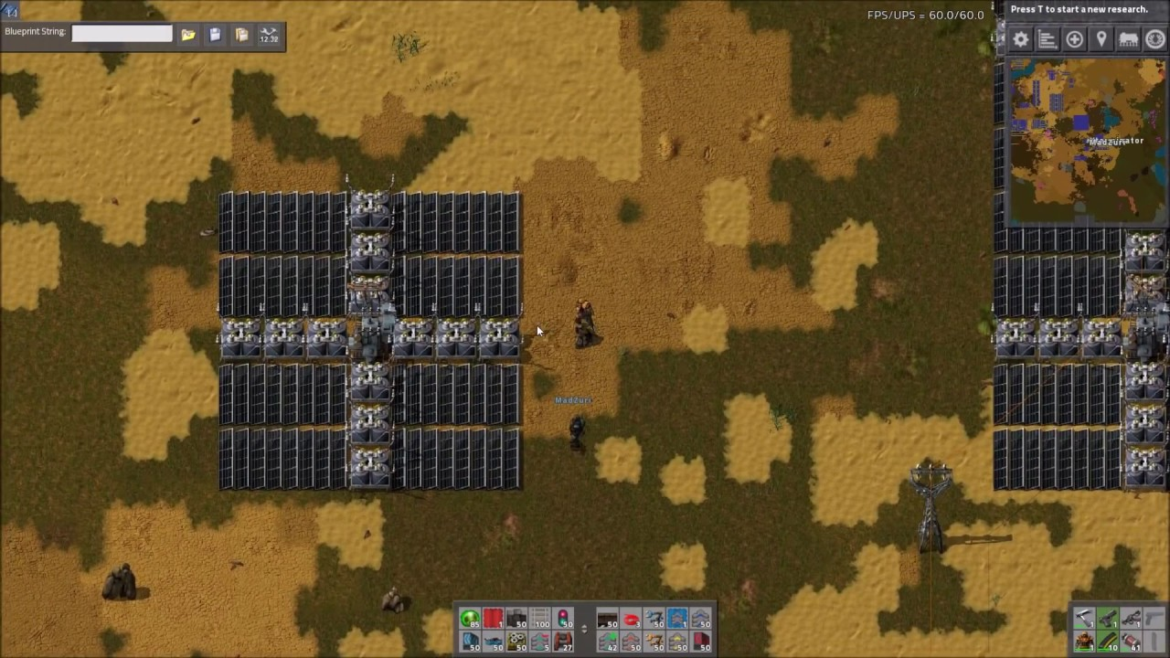 Factorio Workshop - Building A Better Factory :: Solar Layouts