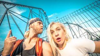 ENERGYLANDIA ⚡ Hyperion Rollercoaster 2018 TEST Treneiro Vlog
