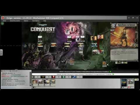 40k Conquest on OCTGN   Maksim vs Urien