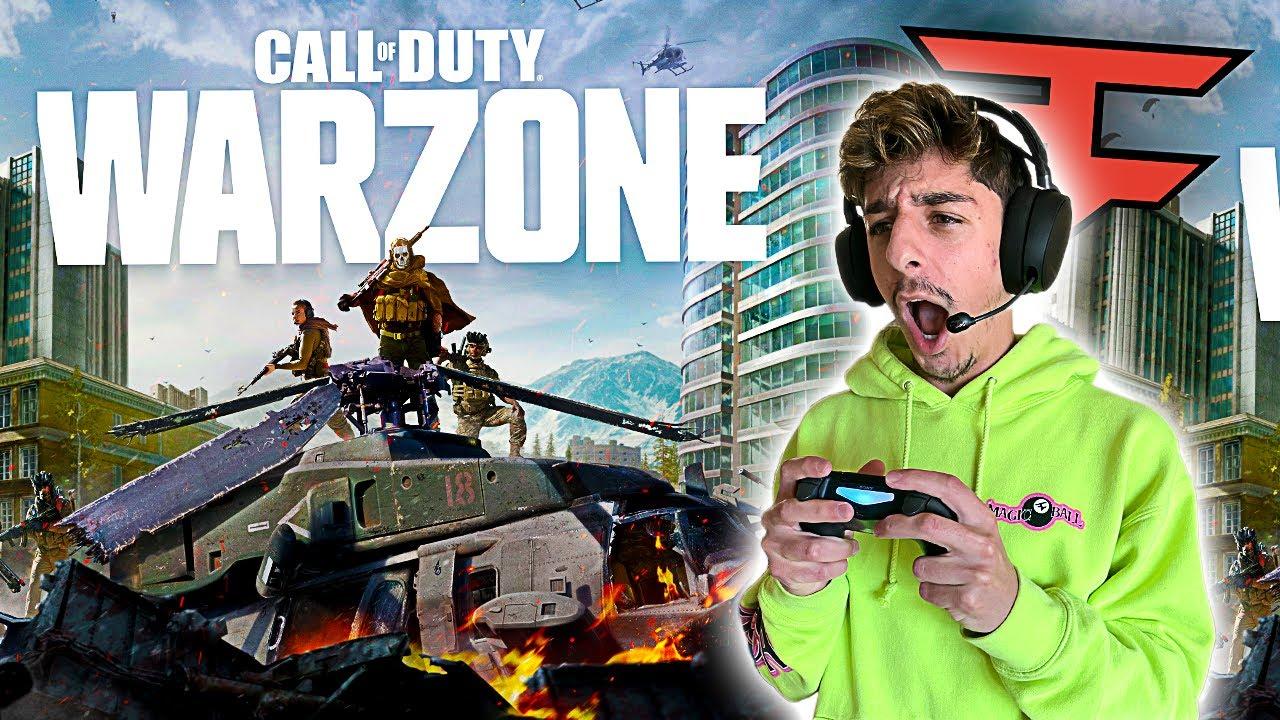 FaZe Rug Plays CoD: Warzone (BATTLE