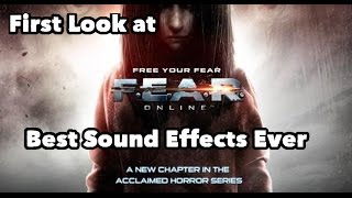 First Look at: F.E.A.R Online - Best Sound Effects Ever