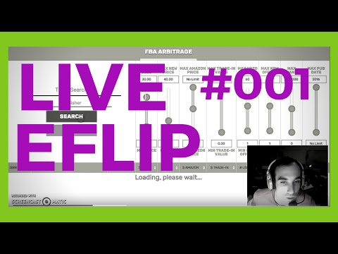 $500 PROFIT - My First Look at Eflip Online Book Arbitrage -