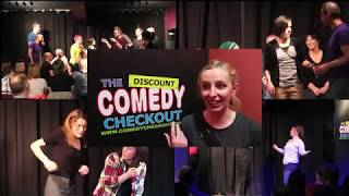Discount Comedy Checkout - Improvisation Courses - Info Video