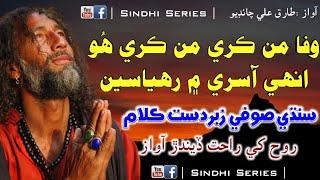 Wafa Man Kare Man Kare Hoo | Tariq Ali Chandio | Sindhi Soofi Song | Sindhi Series Sufi Song | Sad