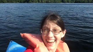 En la Kajako Kun Barbara! // In The Kayak With Barbara!
