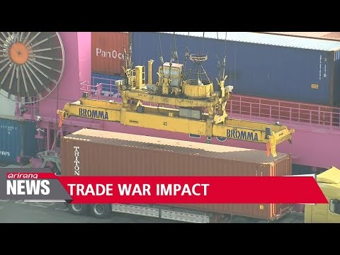 "U.S.-China trade war affects S. Korea...""S. Korea's IT exports to China to go down 20%"