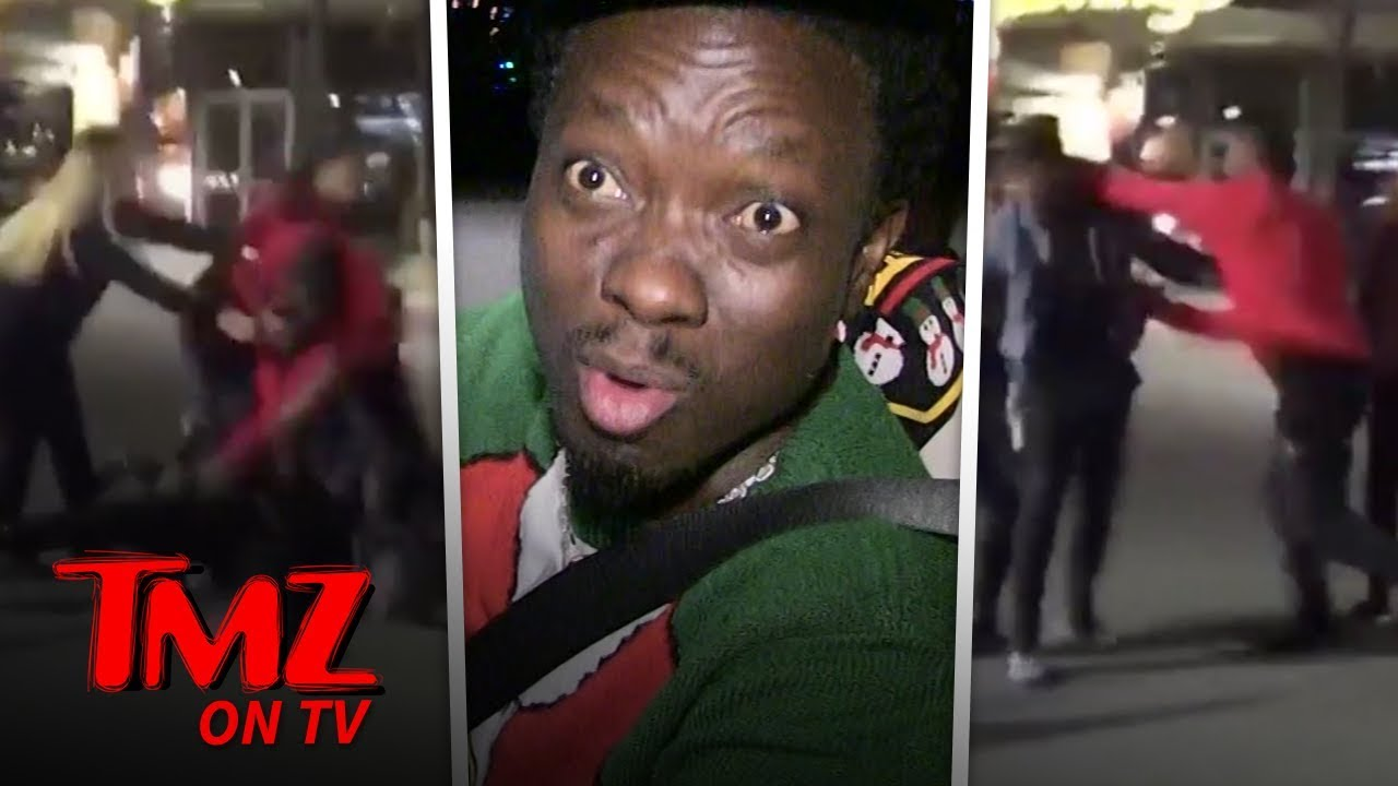 Comedian Gives Props To NFL Star For Not Fighting A Woman | TMZ TV