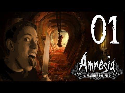 Let's Play Amnesia: A Machine for Pigs [HD|German|Blind] #01 Die Legende kehrt zurück x)