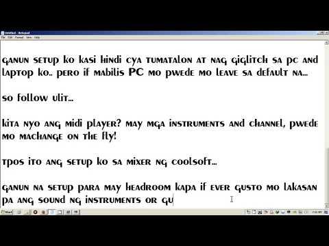 Vanbasco & Midi Player Setup - YouTube