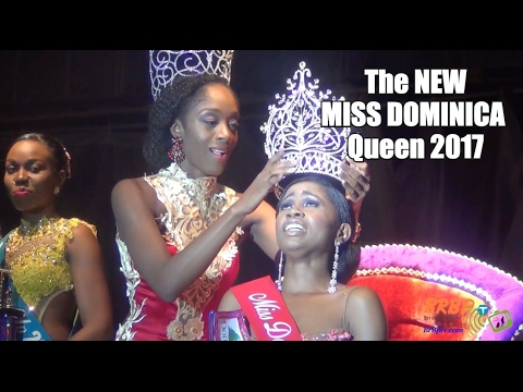 Miss Dominica Carnival Queen 2017 RESULTS AND WINNER