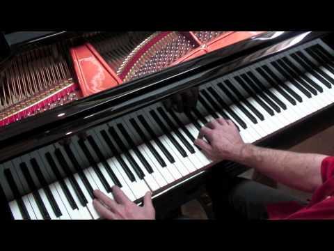 Bach (Kempff) 'Siciliano' - P. Barton FEURICH 218 Grand Piano