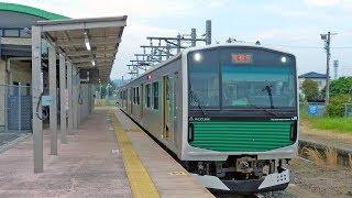 JR烏山線 EV-E301系 2018-05