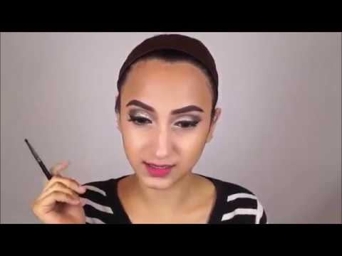 Easy party makeup tutorial for beginners 2017