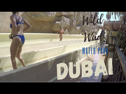 Wild Wadi Water Park Adventure (Dubai UAE) 2017