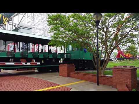 Six Flags train crossing (Baltimore/Washington)