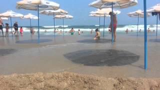 Наводнение на плажа
