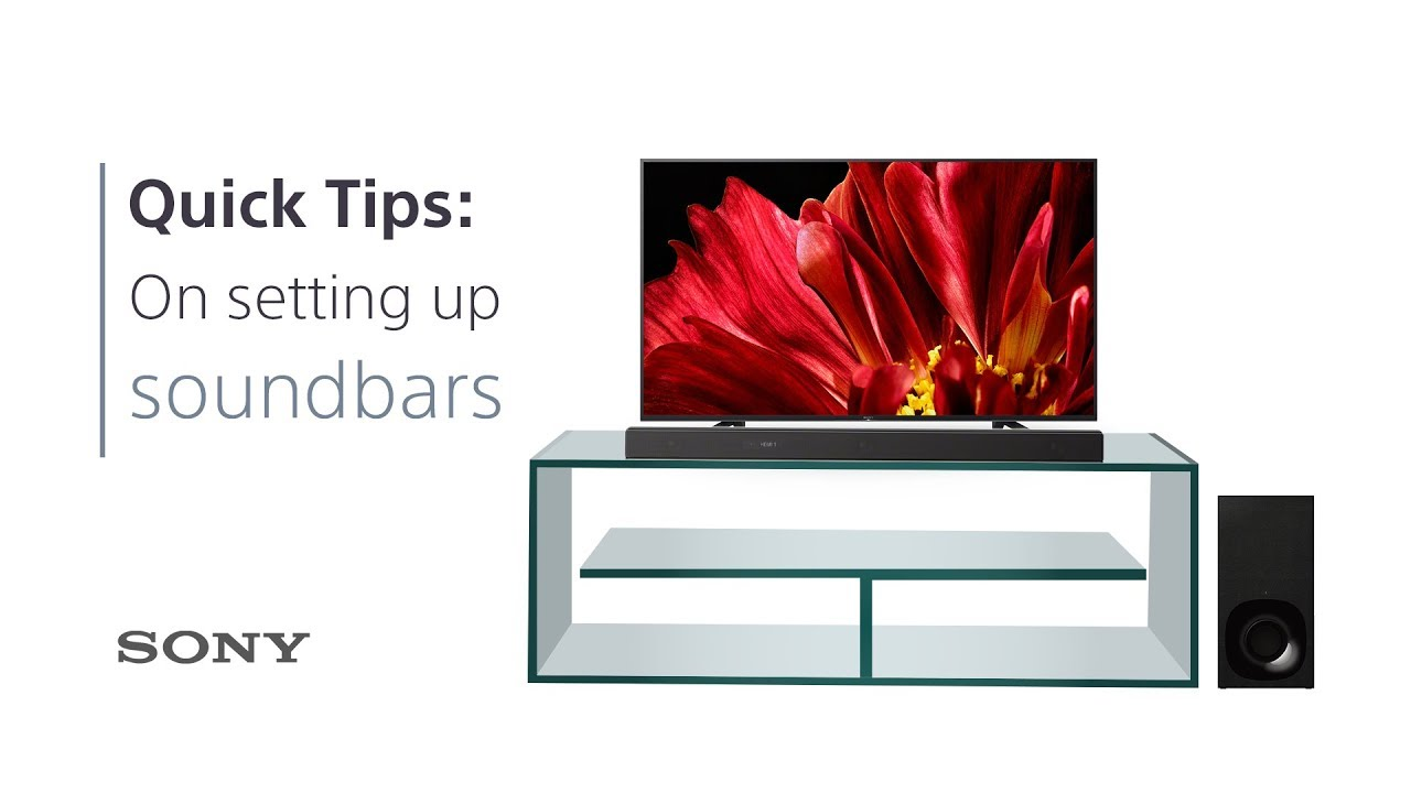 Soundbar Tips: Why Your TV Cabinet Is Part Of Your Sound System