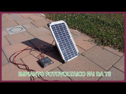 Schema Quadro Elettrico Per Fotovoltaico : Come costruire un piccolo impianto fotovoltaico fai da te