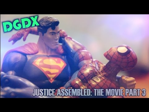 """Justice Assembled: A DGDX Animation""- THE MOVIE (PART 3 FINALE) Marvel / DC Stop Motion *HD*"