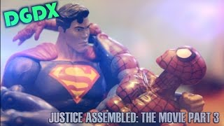 justice assembled a dgdx animation the movie part 3 finale marvel dc stop motion hd