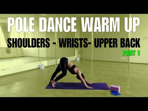 POLE DANCE FULL WORKOUT (Injury FREE Wrists, Shoulders and Upper Back)