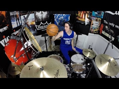 All I Do Is Win - Drum Cover - Georgia State Basketball - Themed Cover