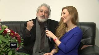 Interview With Ebi Oberhausen Nowrooz Concert 1394 , 2015 مصاحبه با ابی در کنسرت اوبرهاوزن