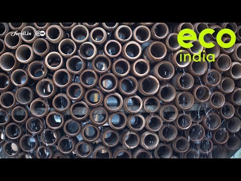 Eco India: How The Pattern Of A Beehive Inspired The Design For An Affordable, Natural Air Cooler