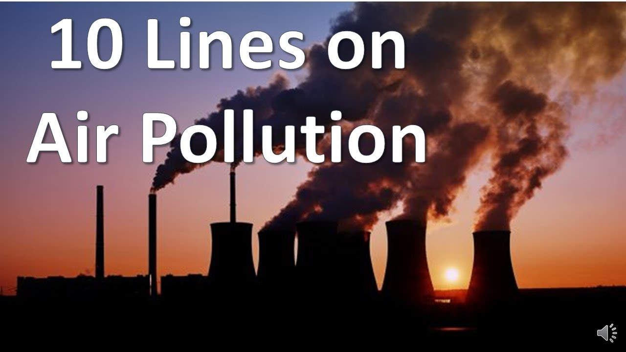 Essay on environmental pollution