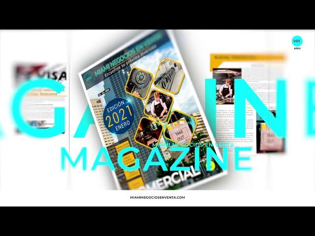 Miami Negocios en Venta Revista Enero 2021-Actualidad, reportes, empresas en venta, y negocios.