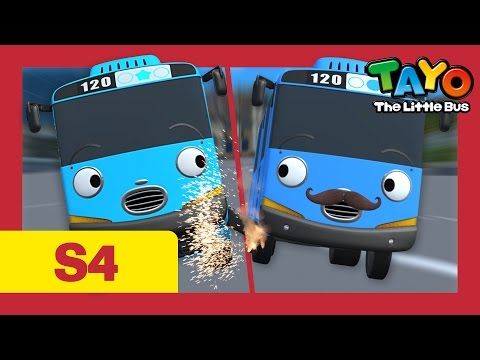 ⭐Tayo S4 #05⭐ Who is the real Tayo? l Tayo the Little Bus l Season 4 Episode 5
