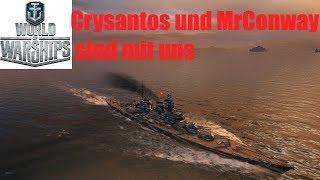 World of Warships mit VuZe. Zwei WG Mitarbeiter im Team!