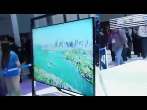 Samsung Ultra High Definition TV, The S9 UHD | TechCrunch At CES 2013