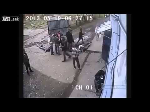 Brutal Fight Outside Belfast Club