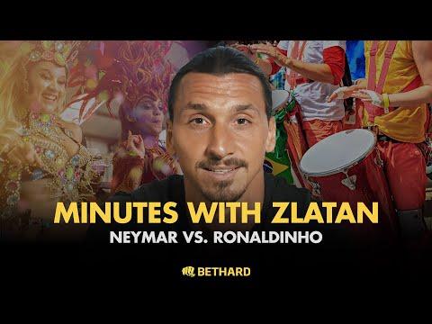 Minutes with Zlatan - Neymar vs Ronaldinho