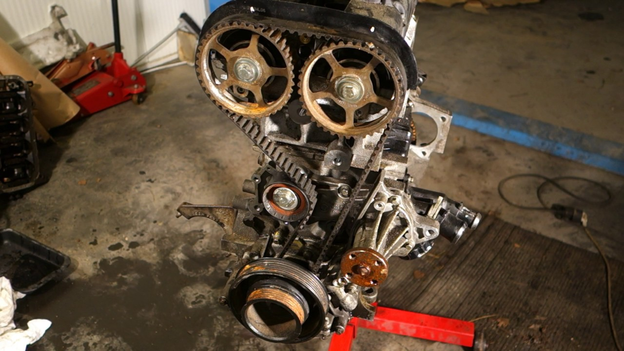 hight resolution of how to replace timing belt ford zetec engine part 1 4