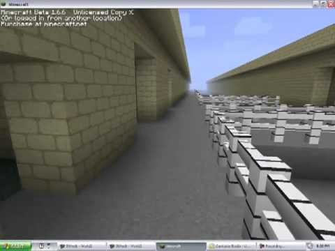 Minecraft Structure - Del Vallejo Middle School Preview
