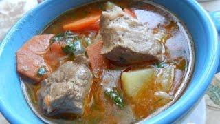 Суп  Айнтопф  с печенью  Немецкая кухня(О рецепте супа