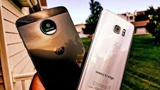 Battle for best Camera - Moto Z vs S7 Edge - Pictures & Video Samples