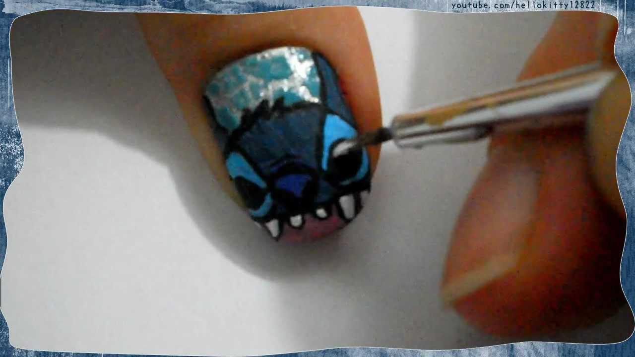 disney series stitch nails