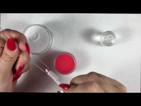 Дизайн ногтей новинки видео с применением гель-пудры гель-жевачка