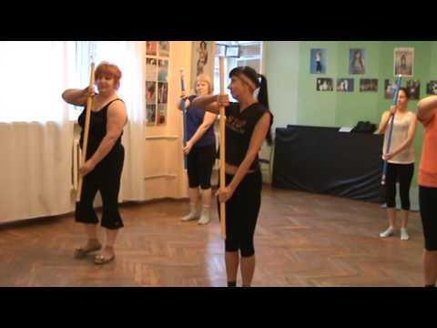 Комплекс упражнений с палкой гимнастической с картинками