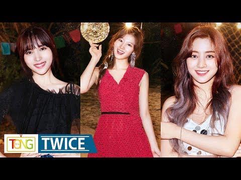 TWICE SANA·JIHYO·MINA 'Dance The Night Away' Images…한여름밤 '파티걸'로 변신 (트와이스, 사나, 지효, 미나)