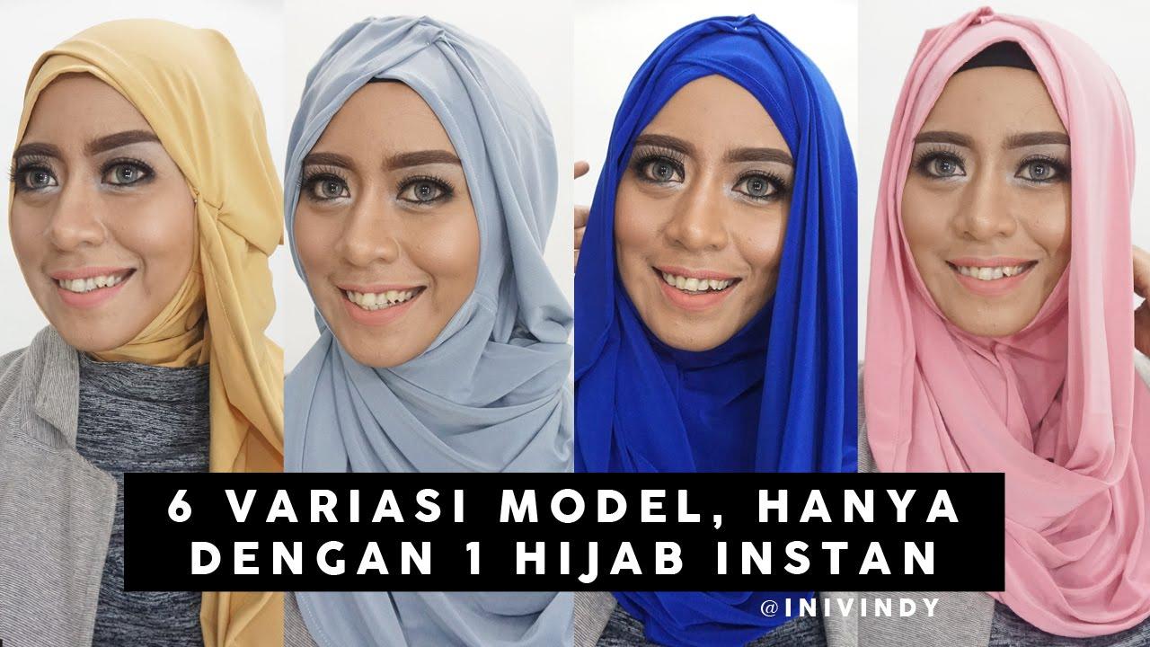 6 Tutorial Hijab Modern Sehari Hari 1 Hijab Instan Bisa Jadi 6